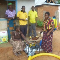 446 Members of WABUKA  with some of their purchases funded by TDT