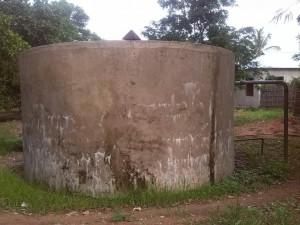 DISTRIBUTION TANK at Chiungutwa Village