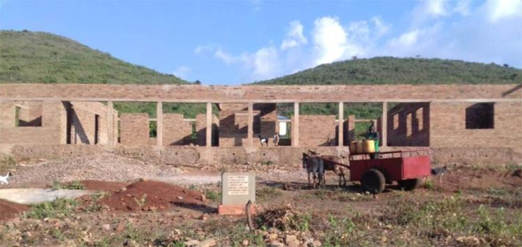 Matongo Dispensary Building under construction