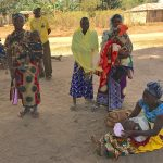 Mothers at Mnyambe Dispensary