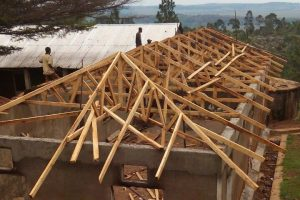 Dormitory roof repairs, Tweyambe School