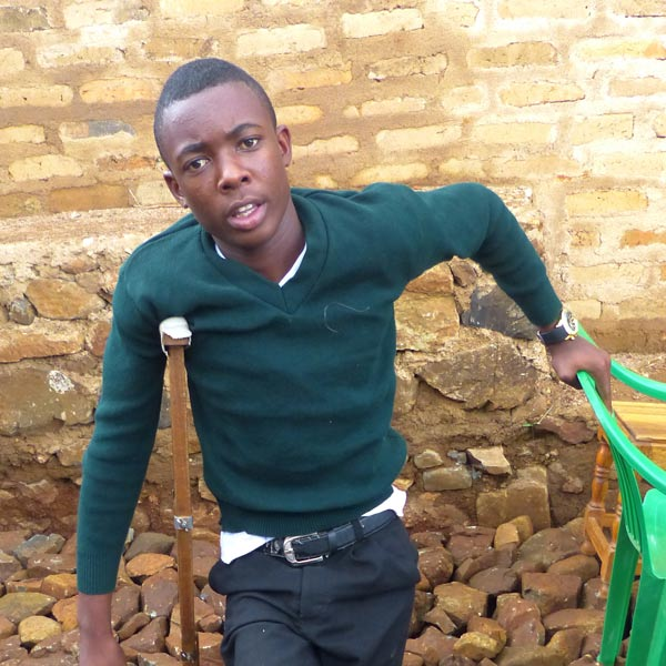 Samuel, campaigner for new Matongo Dispensary