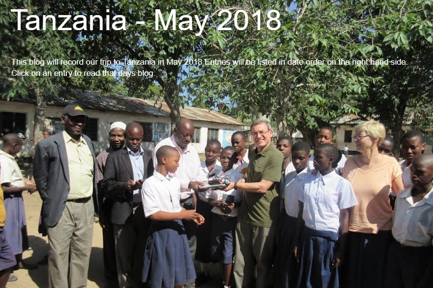 Hilary and Peter Bacon Tanzania visit blog 2018