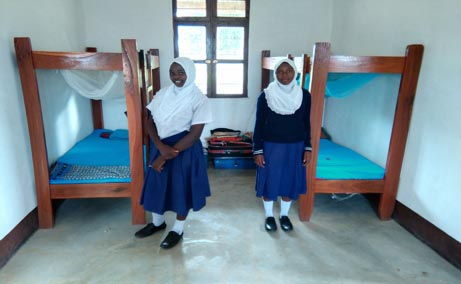 New dormitory at Manyoni Secondary School