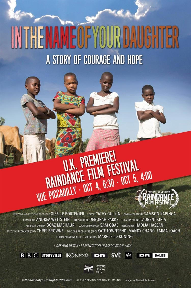 In The Name Of Your Daughter film poster Raindance Festival London