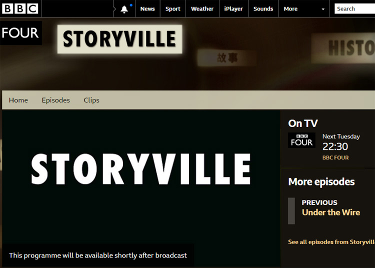 bbc storyville screenshot