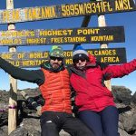 Ruth Harvey and Dan Wells raised funds for Tanzania De3velopment Trust by climbing Mount Kilimanjaro